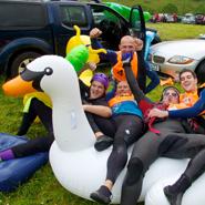 River-Nevis-Race,-Scotland---Contestants-1